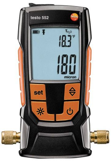 Vacuometro Digital com Bluetooth 552 Testo