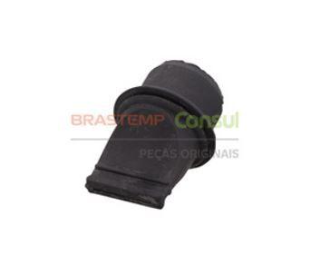 Válvula Dreno Bico de Pato Curto para Geladeira Brastemp Consul W11169693