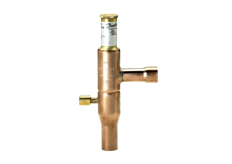 Válvula Reguladora de Pressão KVP 28  1.1/8 Solda Danfoss