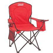 Cadeira Dobrável Vermelha com Cooler - Coleman