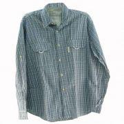 Camisa de Pesca Ballyhoo Masculina Xadrez