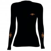Camiseta BRK Feminina Preta Outdoor CP007