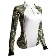 Camiseta BRK Fishing Feminina Military FPU 50+