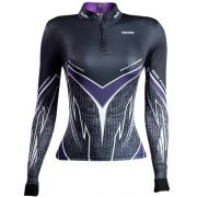 Camiseta BRK Fishing Feminina Purple Viper FPU 50+