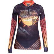 Camiseta Feminina Clonker Dourado Dry Fit