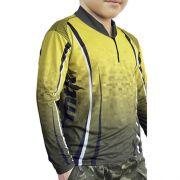 Camiseta MTK Atack Infantil Yellow