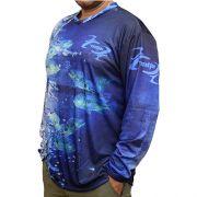 Camiseta MTK Atack V Blue
