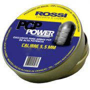 Chumbinho Pcp Power Rossi 5,5mm Alta Potência 75un