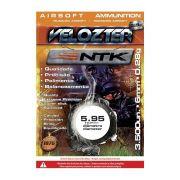 Esfera BBs Velozter 0,28gr Munição para Airsoft 3500pç