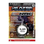 Esfera BBs Velozter 0,30gr Munição para Airsoft 3500pç