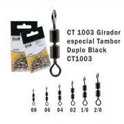Girador Celta Tambor Duplo Black N° 2/0 3cm 180lb com 10un