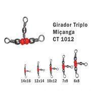 Girador Triplo Celta Miçanga N°6x8 67lb 5un