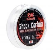 Linha Fluorcarbono Shock Carbon 0,45mm 11kg 20m