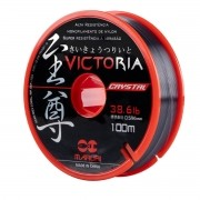 Linha Monofilamento Maruri Victoria Crystal 0,619mm 40,8lb 100m
