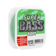 Linha Monofilamento Super Bass Soft Verde 21lb 0,37mm 250m