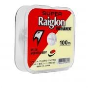 Linha Monofilamento Super Raiglon Tournament Branca  3.5 0,310mm 100m