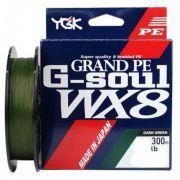 Linha Multifilamento G-soul Pe Wx8 300m Verde