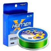 Linha Multifilamento Hunter 8x 0,148mm 5,9kg 300m