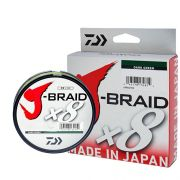 Linha Multifilamento J-Braid x8 Daiwa 8 Fios Trançados 0,28mm 30lb 150m
