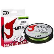 Linha Multifilamento J-Braid x8 Daiwa 8 Fios Trançados 0,32mm 40lb 150m