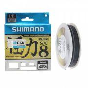 Linha Multifilamento Shimano Kairiki Pe 30lb 150m 13,6kg Cor Cinza