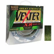 Linha Multifilamento Vexter X8 Verde Marine Sports 30lb 150m