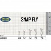Snap Fly Mod 3 c/Girador 40lb 5un Glico' Snap