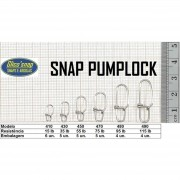 Snap Pumplock Glico'Snap Mod. 410 15lb 6pç
