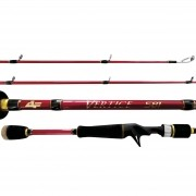 "Vara Albatroz Fishing Vertice II 5'8"" (1,75m) 10-20 Lbs Carretilha"