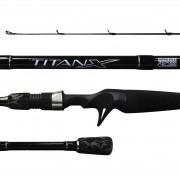 Vara Marine Sports Titan X TTX- C561M 8-17lb 1,68m 6-22gr Carretilha