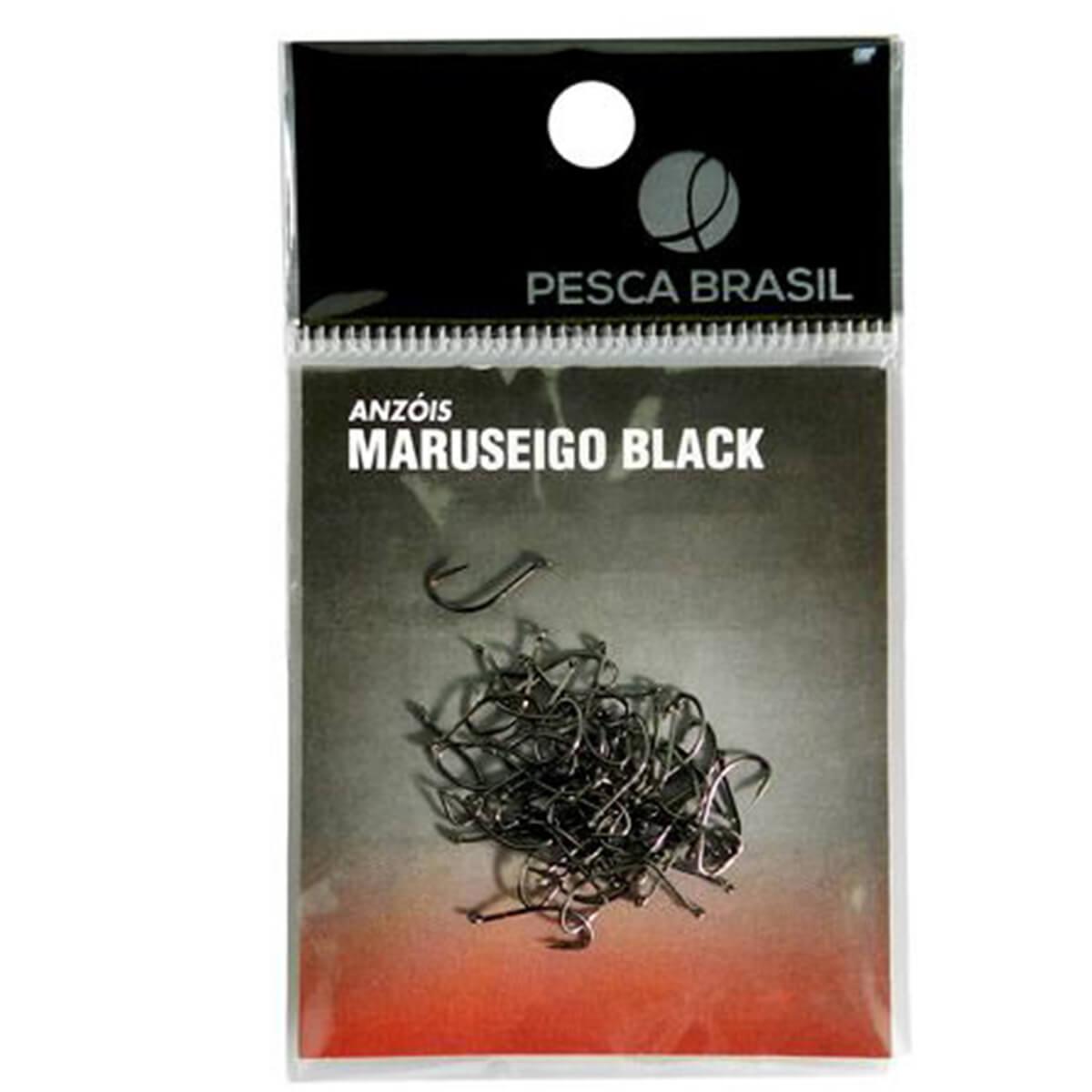 Anzol Maruseigo Black Pesca Brasil