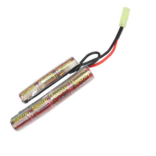 Bateria Para Airsoft 8,4V – 1600 mAh (mlt) – Modelo Butterfly