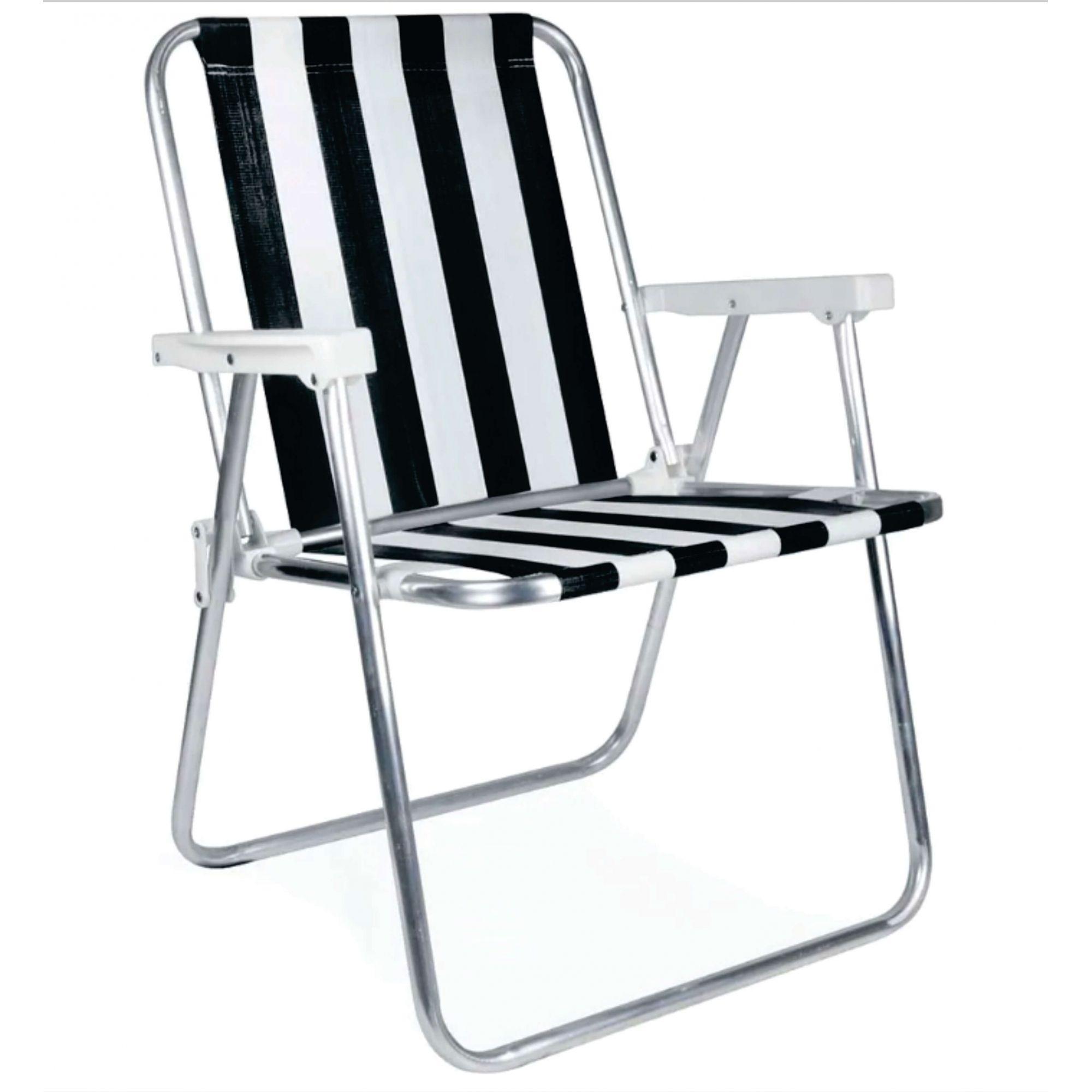 Cadeira de Alumínio Alta Mor