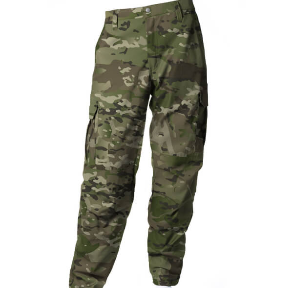 Calça de Brim Real Hunter Fluor Carbon Camuflado Multicam