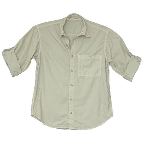 Camisa de Pesca Ballyhoo Masculina Pow Areia