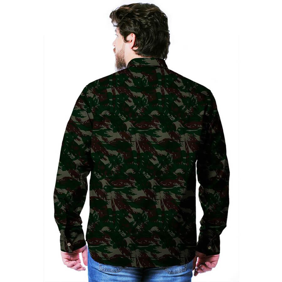 Camisa Gandola Real Hunter Camuflada Exército