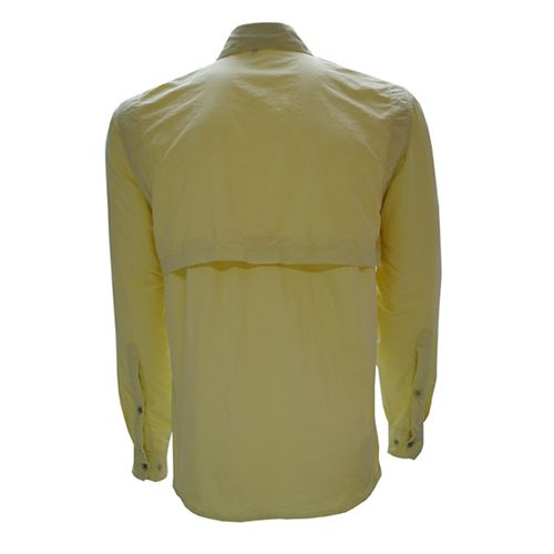 Camisa Guepardo Masculina Trek Fish Amarelo