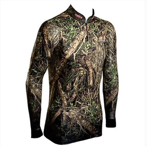 Camiseta BRK Fishing Stealth Series 02 com fpu 50+