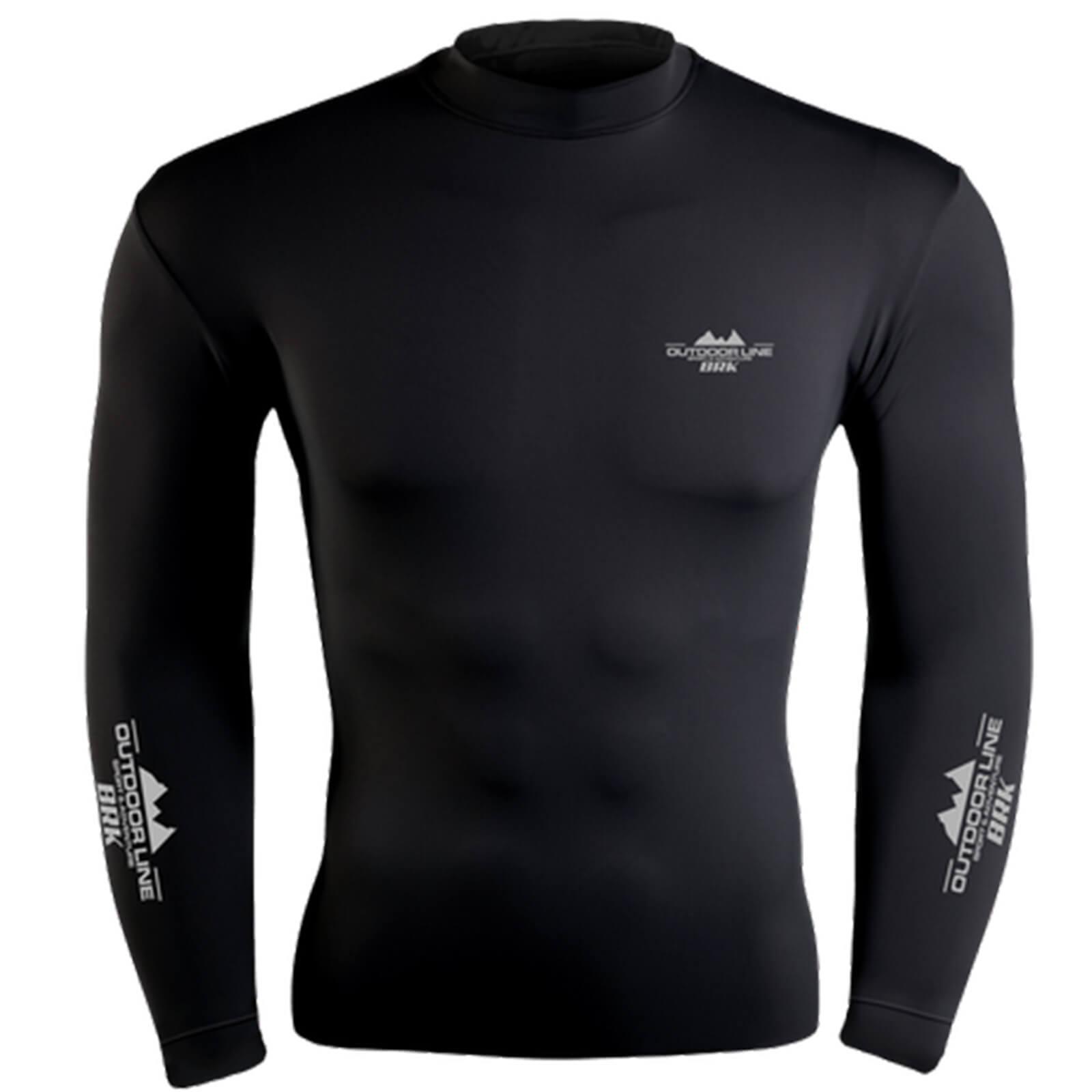 Camiseta BRK Poliamida FPU 50+ Preta Outdoor