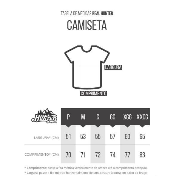 Camiseta Camuflada Exercito Manga Curta