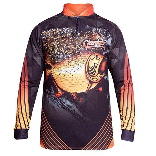 Camiseta Clonker Dourado Dry Fit
