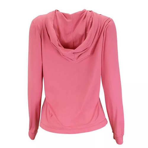 Camiseta Feminina Ballyhoo com Capuz com Proteção Solar Filtro UV Melancia