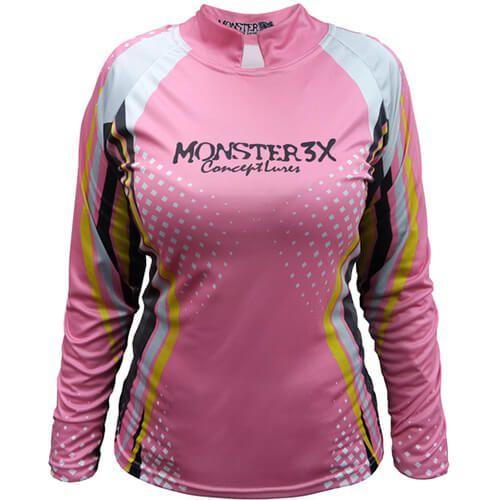 Camiseta Monster 3x Feminina New Fish