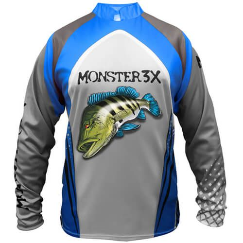 Camiseta Monster 3x New Fish 03