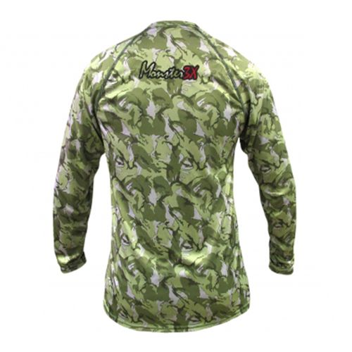 Camiseta Monster 3x Nova Dry Sun Jungle