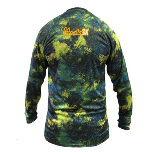 Camiseta Monster 3x Nova Dry Sun Offshore