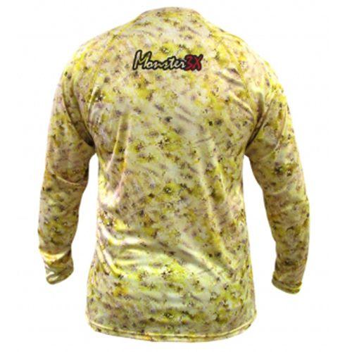 Camiseta Monster 3x Nova Dry Sun Yellow King
