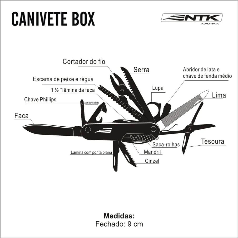 Canivete Nautika Box