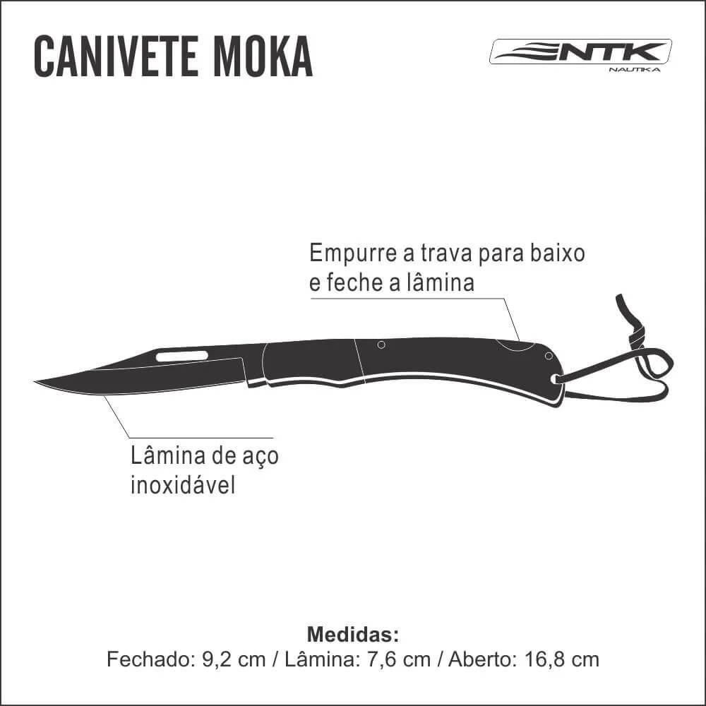 Canivete Nautika Moka