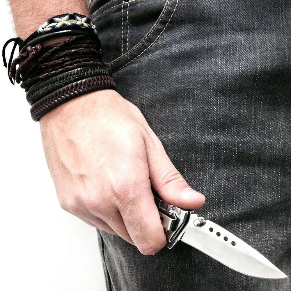 Canivete Nautika Silver 40